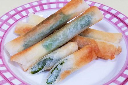 長芋チーズ春巻き(10本分)